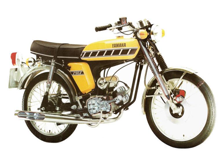 Yamaha Knallert